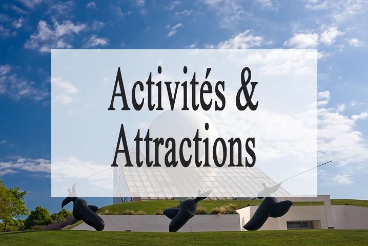 Les attractions et les activité à côte du gite de vendée le Pavillon du Grand Logis