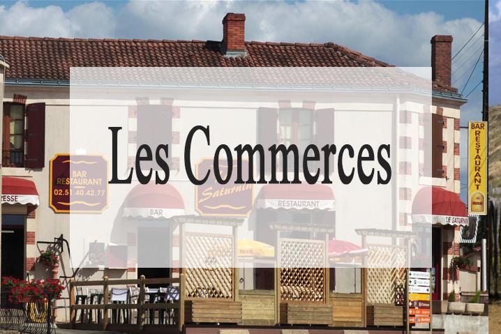 les commerces aux alentour du gite de vendé le pavillon du grand logis