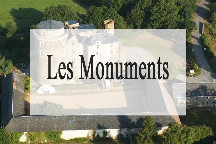 les monuments aux alentour du gite de vendé le pavillon du grand logis